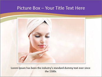 Beautiful Healthy Woman PowerPoint Templates - Slide 16