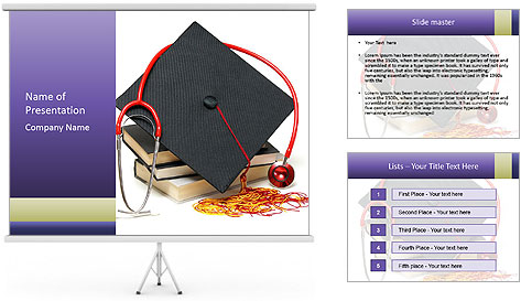 Healthcare professional PowerPoint Template