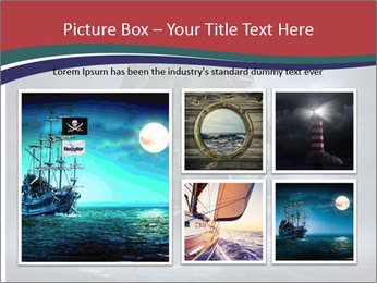 Ghost ship PowerPoint Template - Slide 19