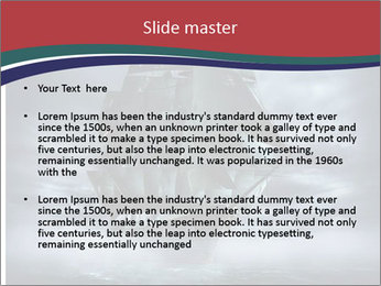 Ghost ship PowerPoint Template - Slide 2
