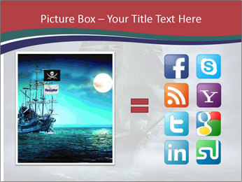 Ghost ship PowerPoint Template - Slide 21