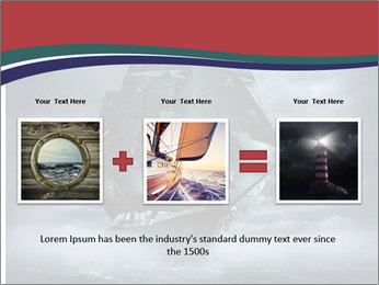 Ghost ship PowerPoint Template - Slide 22