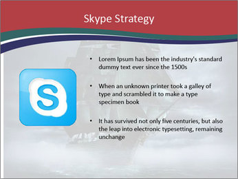Ghost ship PowerPoint Template - Slide 8