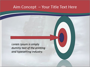 Ghost ship PowerPoint Template - Slide 83