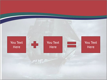 Ghost ship PowerPoint Template - Slide 95