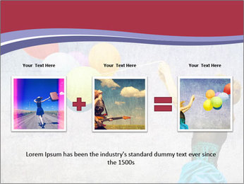 Multicolored balloons PowerPoint Templates - Slide 22