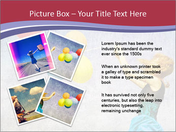 Multicolored balloons PowerPoint Templates - Slide 23