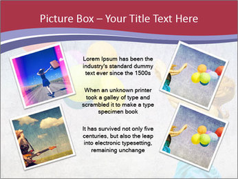 Multicolored balloons PowerPoint Templates - Slide 24