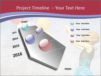 Multicolored balloons PowerPoint Templates - Slide 26