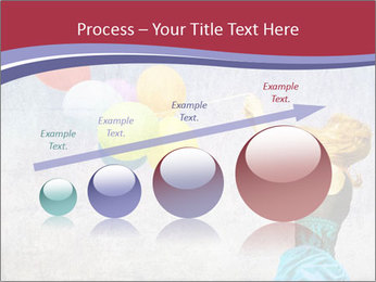 Multicolored balloons PowerPoint Templates - Slide 87