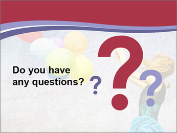 Multicolored balloons PowerPoint Templates - Slide 96