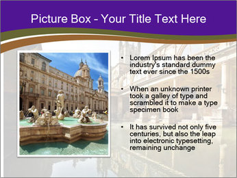 Roman Baths PowerPoint Template - Slide 13