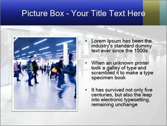 People on subway PowerPoint Templates - Slide 13