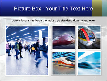 People on subway PowerPoint Template - Slide 19