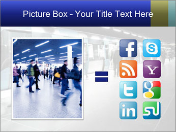People on subway PowerPoint Template - Slide 21