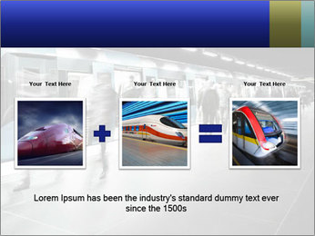 People on subway PowerPoint Template - Slide 22