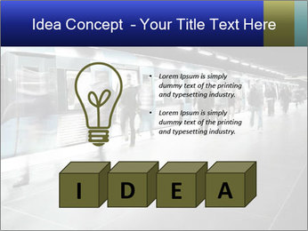 People on subway PowerPoint Templates - Slide 80