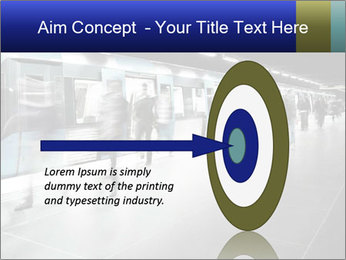 People on subway PowerPoint Template - Slide 83