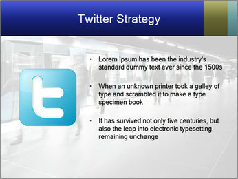 People on subway PowerPoint Template - Slide 9