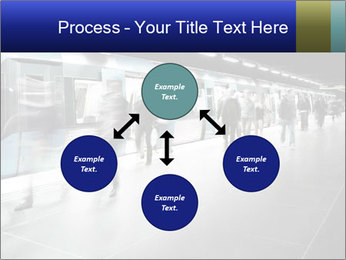 People on subway PowerPoint Templates - Slide 91