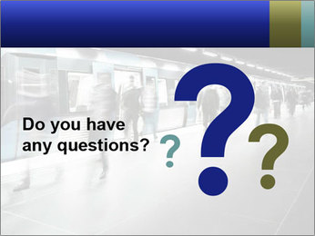 People on subway PowerPoint Templates - Slide 96