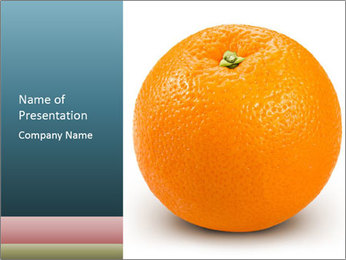 Orange PowerPoint Template - Slide 1