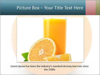 Orange PowerPoint Template - Slide 15