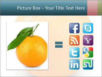 Orange PowerPoint Template - Slide 21