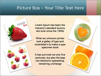 Orange PowerPoint Template - Slide 24