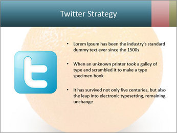 Orange PowerPoint Template - Slide 9