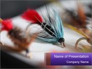 Tackle for fishing PowerPoint Template