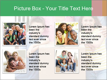 Family into new house PowerPoint Templates - Slide 14
