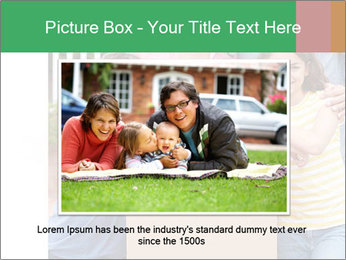 Family into new house PowerPoint Template - Slide 16