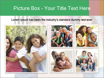 Family into new house PowerPoint Template - Slide 19