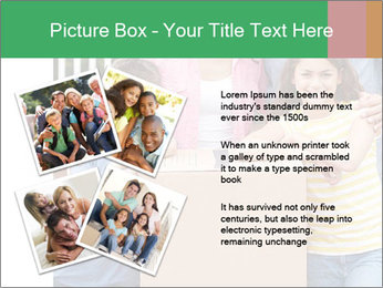 Family into new house PowerPoint Templates - Slide 23