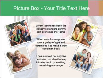 Family into new house PowerPoint Templates - Slide 24