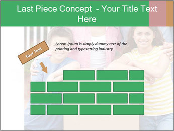 Family into new house PowerPoint Template - Slide 46