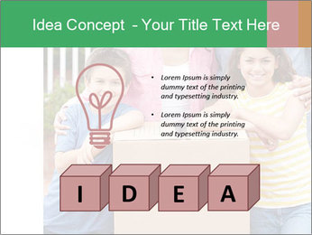 Family into new house PowerPoint Template - Slide 80