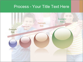Family into new house PowerPoint Template - Slide 87