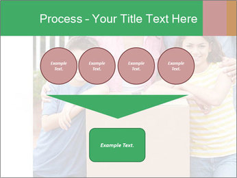 Family into new house PowerPoint Template - Slide 93