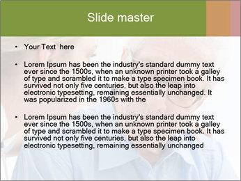 Senior man PowerPoint Template - Slide 2