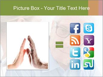 Senior man PowerPoint Template - Slide 21