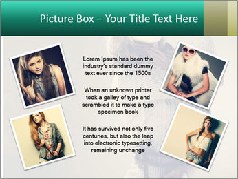 Girl posing PowerPoint Templates - Slide 24