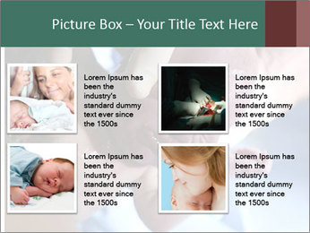 Baby only a few seconds before PowerPoint Templates - Slide 14