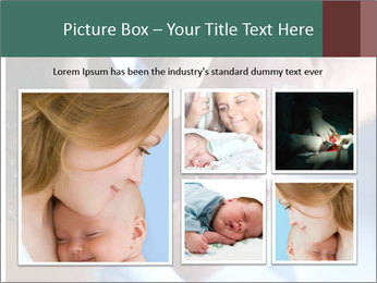 Baby only a few seconds before PowerPoint Template - Slide 19