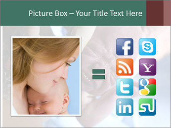 Baby only a few seconds before PowerPoint Template - Slide 21