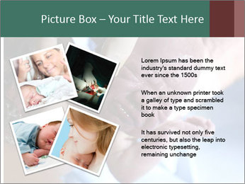Baby only a few seconds before PowerPoint Templates - Slide 23