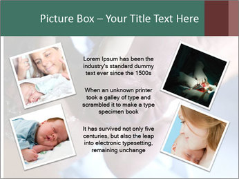 Baby only a few seconds before PowerPoint Template - Slide 24
