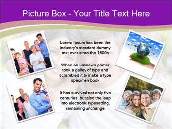Children with parents PowerPoint Template - Slide 24