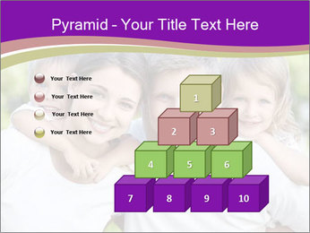 Children with parents PowerPoint Template - Slide 31